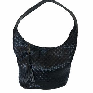 Faux Leather Hobo with Tassle. Excellent condition